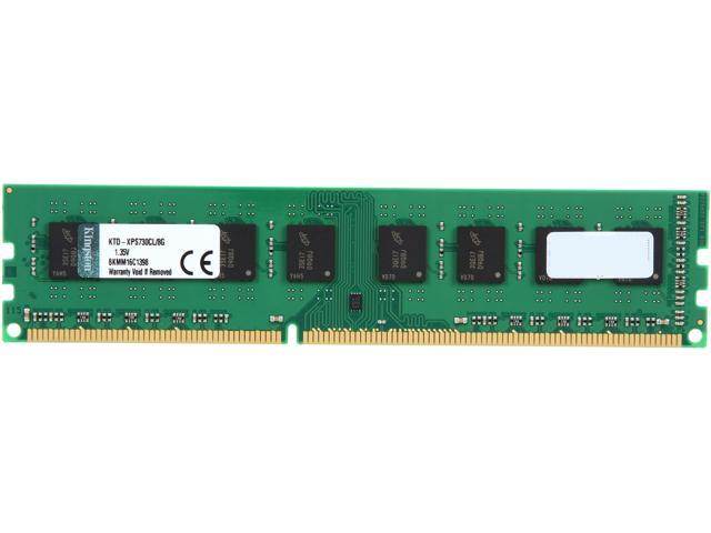 Kingston 8GB 240-Pin DDR3 SDRAM DDR3 1600 (PC3 12800) Low Voltage System Specific Memory Model KTD-XPS730CL/8G