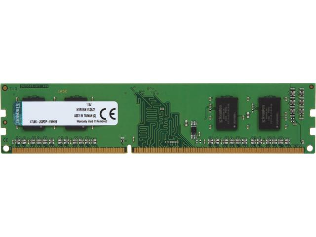 Kingston 2GB 240-Pin DDR3 SDRAM DDR3 1600 (PC3 12800) Desktop Memory Model KVR16N11S6/2