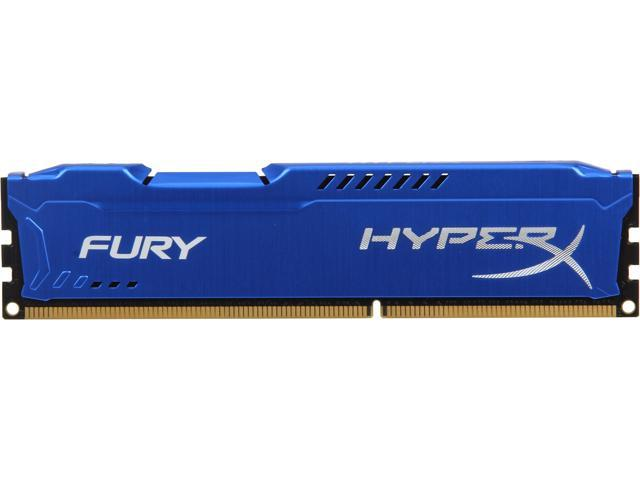 HyperX Fury Series 4GB 240-Pin DDR3 SDRAM DDR3 1333 (PC3 10600) Desktop Memory Model HX313C9F/4