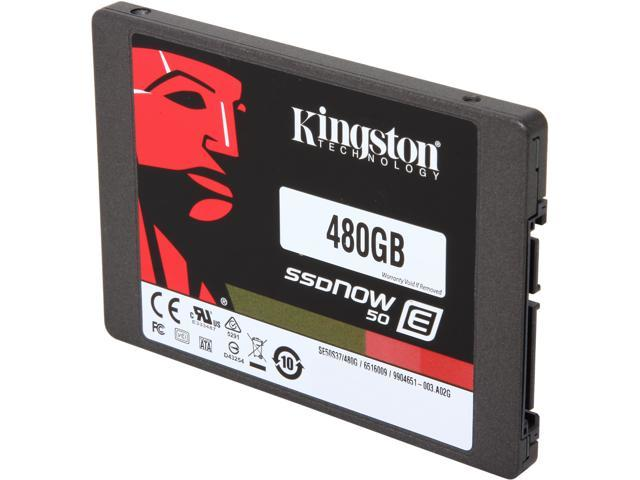 Kingston SSDNow E50 SE50S37/480G 2.5