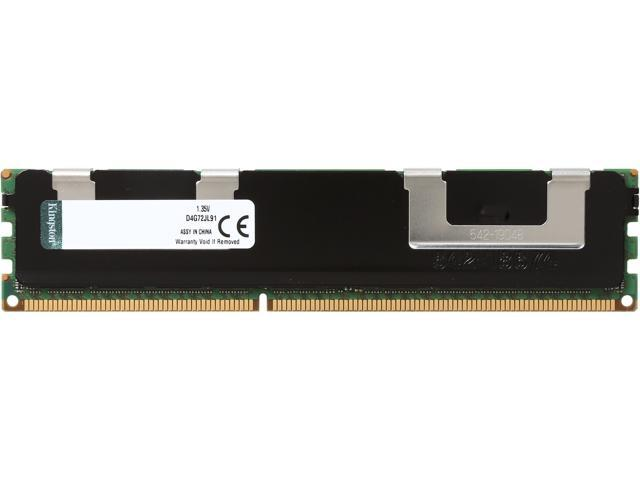 Kingston 32GB 240-Pin DDR3 SDRAM DDR3 1333 ECC Registered Low Voltage System Specific Memory Model D4G72JL91