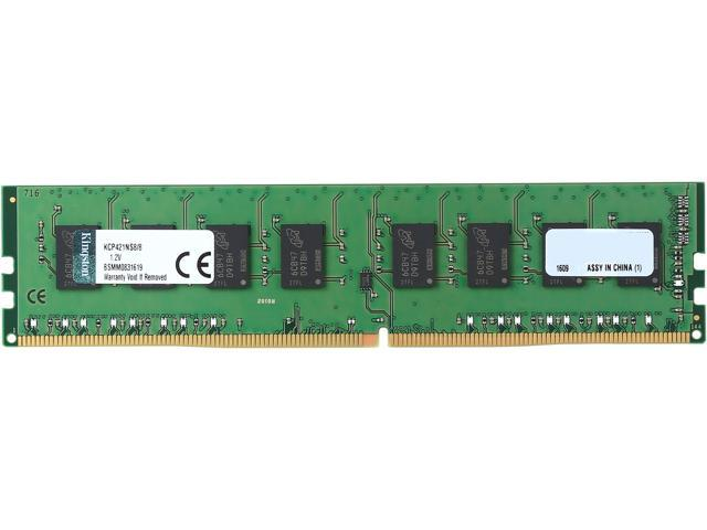 Kingston 8GB 288-Pin DDR4 SDRAM DDR4 2133 (PC4 17000) System Specific Memory Model KCP421NS8/8