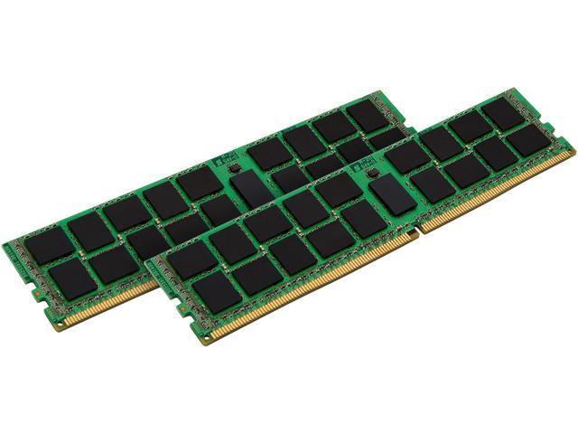 Kingston ValueRAM 32GB (2 x 16GB) DDR4 2133 RAM (Server Memory) ECC DIMM (288-Pin) KVR21E15D8K2/32I (Intel Validated)