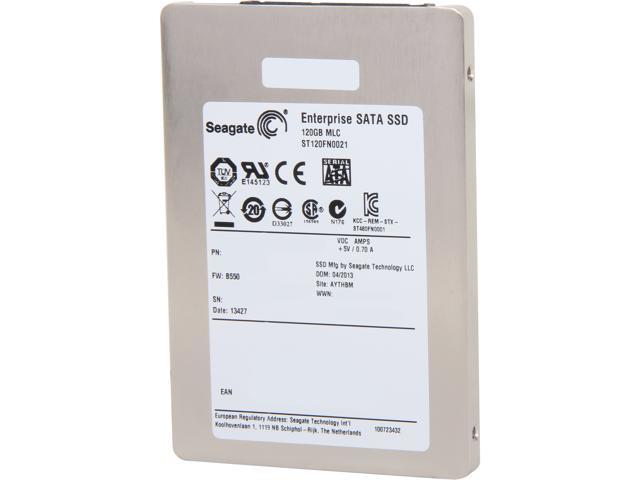 "Seagate 600 Pro Series ST120FN0021 2.5"" 120GB SATA III MLC Enterprise Solid State Drive (Usage Based) - OEM"