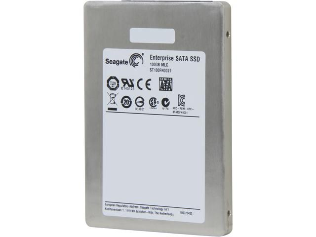 "Seagate 600 Pro Series ST100FN0021 2.5"" 100GB SATA III MLC Enterprise Solid State Drive (Usage Based) - OEM"