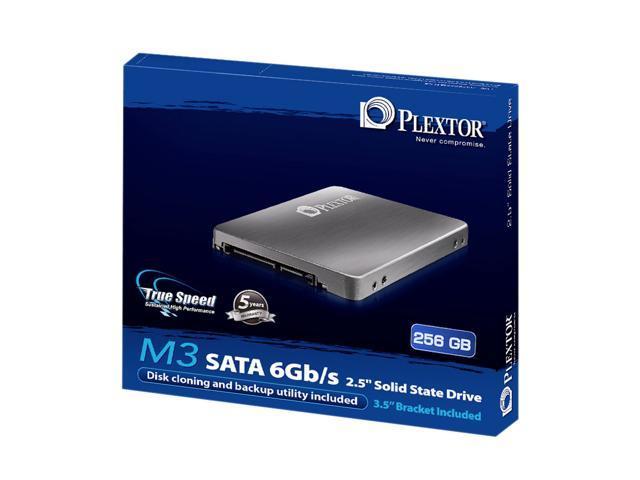 """Plextor M3 Series 2.5"""" 256GB SATA III Internal Solid State Drive (SSD) PX-256M3"""
