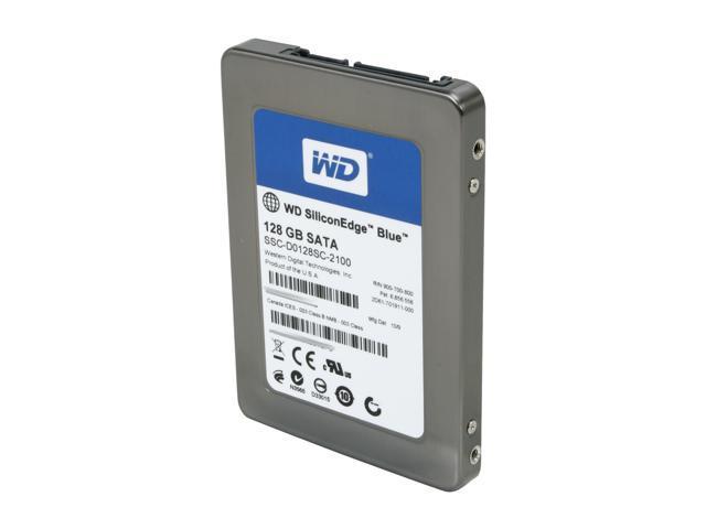 "Western Digital SiliconEdge Blue 2.5"" 128GB SATA II MLC Internal Solid State Drive (SSD) SSC-D0128SC-2100 - OEM"