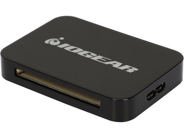 IOGEAR GFR382 USB 3.0 USB 3.0 4-Slot Card Reader/Writer