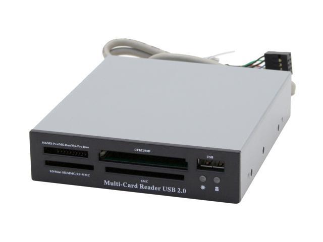 SABRENT SBT-CR16B 16-in-1 USB 2.0 Card Reader & Writer