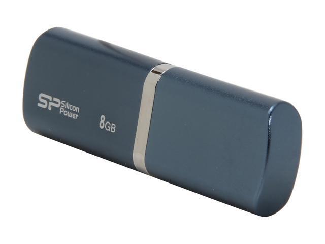 Silicon Power LuxMini 720 8GB USB 2.0 Flash Drive Model SP008GBUF2720V1D