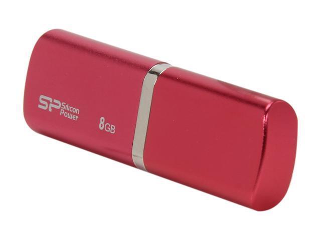 Silicon Power LuxMini 720 8GB USB 2.0 Flash Drive