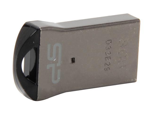 Silicon Power Touch T01 Mini 8GB Waterproof USB 2.0 Flash Drive Model SP008GBUF2T01V1K