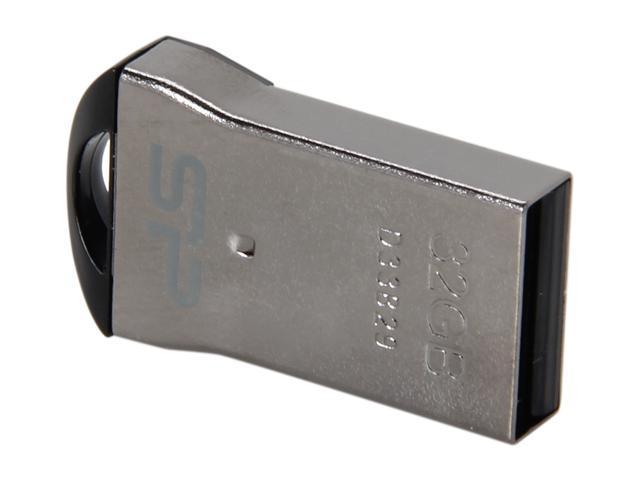Silicon Power Touch T01 Mini 32GB Waterproof USB 2.0 Flash Drive Model SP032GBUF2T01V1K
