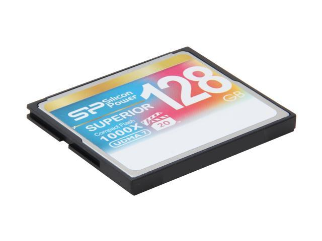 Silicon Power Superior 128GB Compact Flash (CF) Flash Card Model SP128GBCFC1K0V10