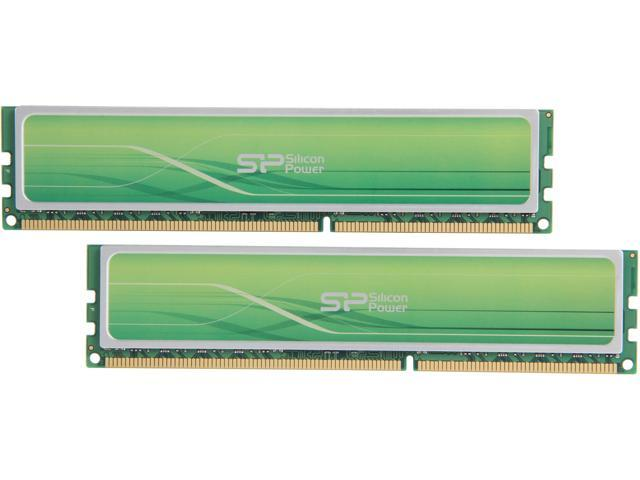 Silicon Power Xpower 16GB (2 x 8GB) 240-Pin DDR3 SDRAM DDR3 2400 (PC3 19200) Desktop Memory Model SP016GXLYU240NDA