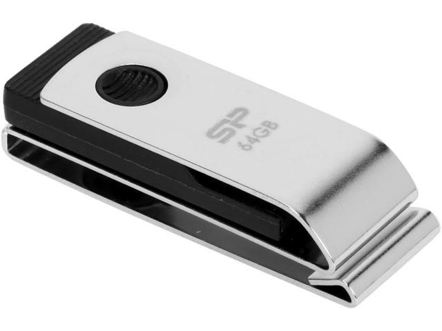 Silicon Power TOUCH 64GB Flash Drive Model SP064GBUF2825V1C