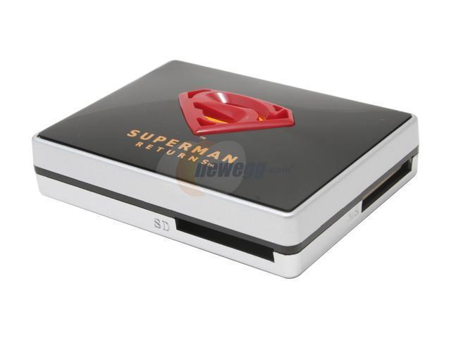 i-rocks Superman Returns SP-5000-BK USB 2.0 Card Reader
