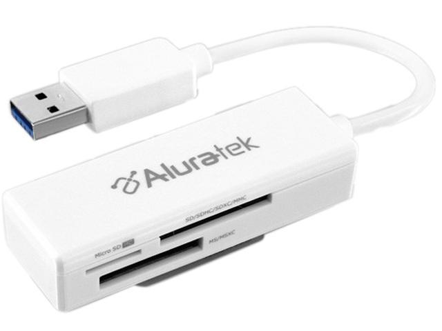 Aluratek AUCR300F Flash Reader USB 3.0 Card Reader
