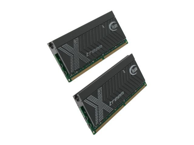 Team Xtreem 2GB (2 x 1GB) 240-Pin DDR2 SDRAM DDR2 1200 (PC2 9600) Dual Channel Kit Desktop Memory Model TXDD2048M1200HC5DC