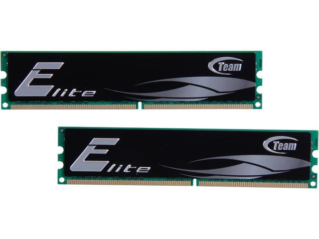 Team Elite 4GB (2 x 2GB) 240-Pin DDR2 SDRAM DDR2 800 (PC2 6400) Desktop Memory Model TEDD4096M800HC5DC