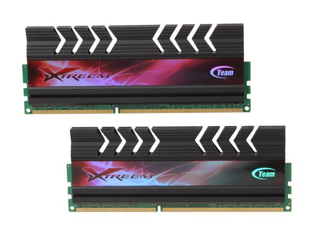 Team Xtreem LV Series 4GB (2 x 2GB) 240-Pin DDR3 SDRAM DDR3 2000 (PC3 16000) Desktop Memory Model TXD34096M2000HC9KDC-L