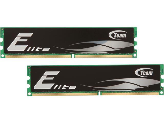 Team Elite 4GB (2 x 2GB) 240-Pin DDR2 SDRAM DDR2 667 (PC2 5300) Desktop Memory Model TEDD4096M667HC5DC