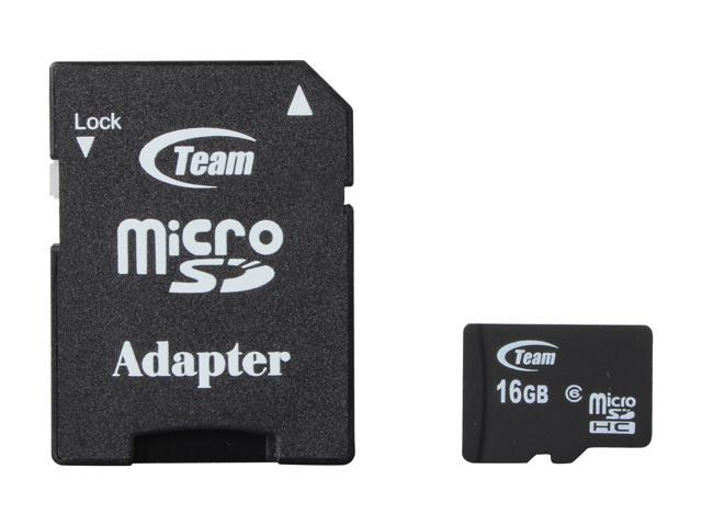 Team 16GB microSDHC Flash Card Model TG016G0MC26A