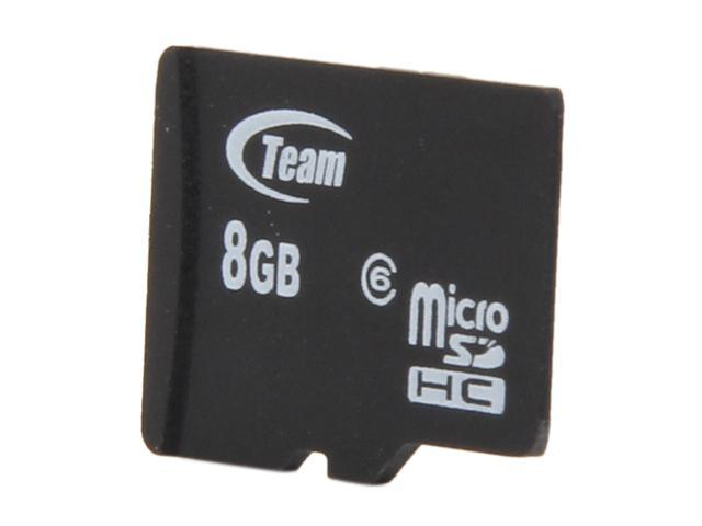 Team 8GB microSDHC Flash Card (Card Only) Model TG008G0MC26X