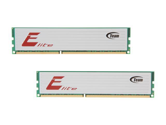 Team 16GB (2 x 8GB) 240-Pin DDR3 SDRAM DDR3 1333 (PC3 10600) Desktop Memory Model TED316G1333HC9DC