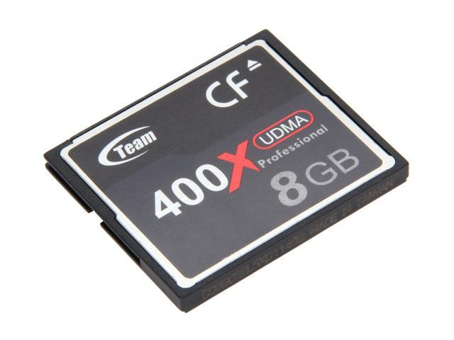 Team 8GB Compact Flash (CF) Flash Card Model TG008G2NCFDX