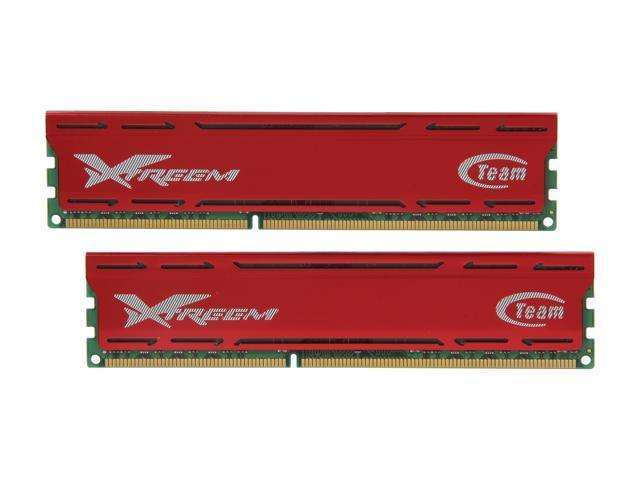 Team Vulcan 8GB (2 x 4GB) 240-Pin DDR3 SDRAM DDR3 1600 (PC3 12800) Desktop Memory Model TXD38192M1600HC9DC-V