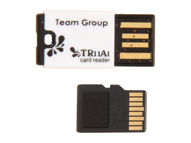 Team 32GB microSDHC Flash Card with USB Card Reader (Black) Model TUSDH32GCL429