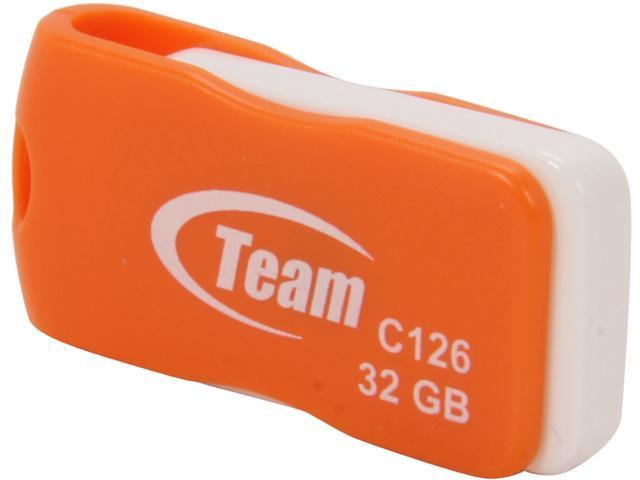 Team C126 32GB Flash Drive Model TC12632GE01