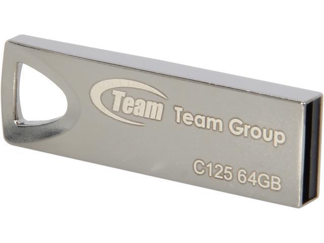 Team C125 64GB USB 2.0 Flash Drive