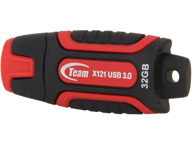 Team X Series 32GB Flash Drive Model TX12132GR01