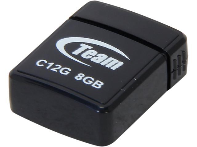 Team C12G 8GB USB 2.0 Flash Drive Model TC12G8GB01