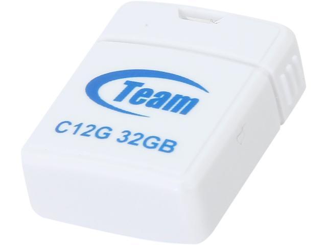 Team C12G 32GB USB 2.0 Flash Drive Model TC12G32GW01