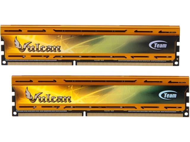 Team Vulcan 8GB (2 x 4GB) 240-Pin DDR3 SDRAM DDR3 2400 (PC3 19200) Desktop Memory Model TLYD38G2400HC11CDC01