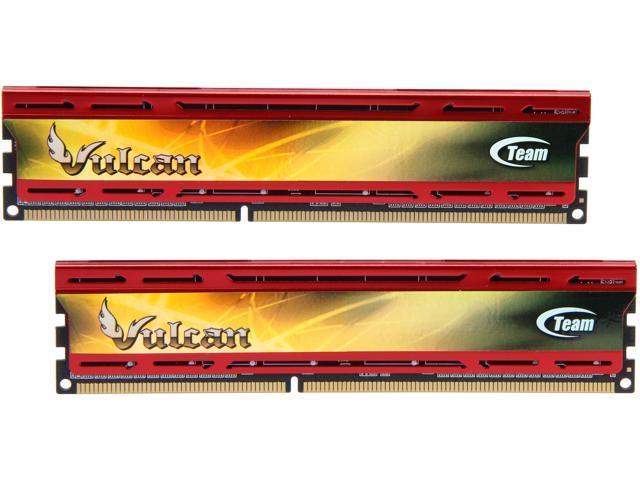 Team Vulcan 8GB (2 x 4GB) 240-Pin DDR3 SDRAM DDR3 2133 (PC3 17000) Desktop Memory Model TLD38G2133HC11ADC01