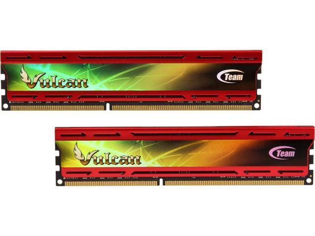 Team Vulcan 16GB (2 x 8GB) 240-Pin DDR3 SDRAM DDR3 2400 (PC3 19200) Desktop Memory Model TLD316G2400HC11CDC01