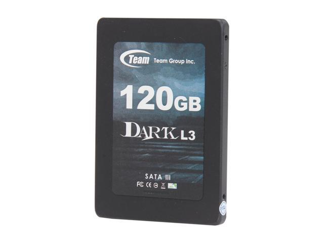"Team Group DARK L3 2.5"" 120GB SATA III Internal Solid State Drive (SSD) T253L3120GMC101"