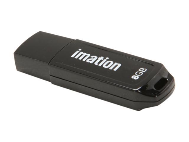 Imation Pocket 8GB USB 2.0 Flash Drive W/ Write-On Labels Model 26653