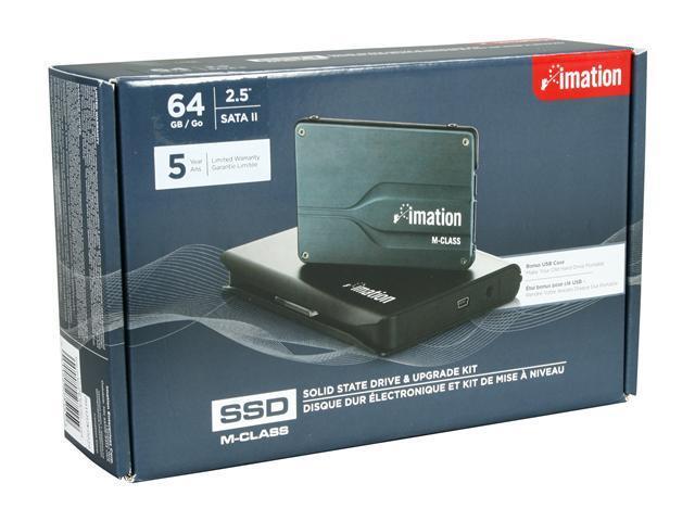 "Imation M-Class 2.5"" 64GB SATA II MLC Internal Solid State Drive (SSD) 27515"