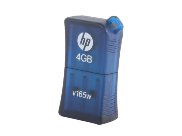 HP V165w 4GB USB 2.0 Flash Drive Model P-FD4GBHP165-EF