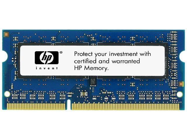 HP 4GB 204-Pin DDR3 SO-DIMM DDR3 1600 (PC3 12800) Unbuffered System Specific Memory Model B4U39AT