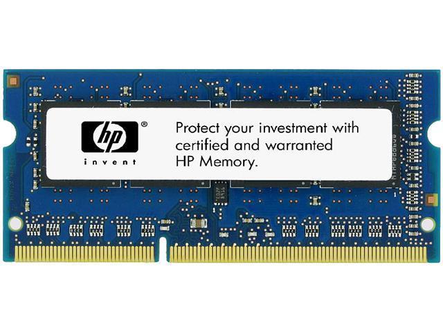 HP 8GB 204-Pin DDR3 SO-DIMM DDR3 1600 (PC3 12800) Unbuffered System Specific Memory Model B4U40AT