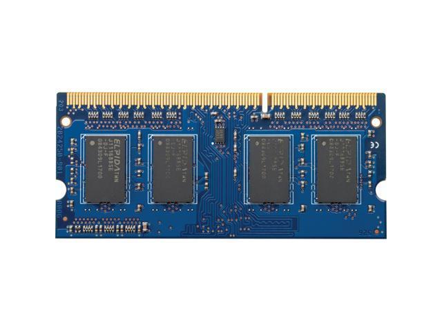 HP 4GB 204-Pin DDR3 SO-DIMM DDR3L 1600 (PC3L 12800) Laptop Memory Model H6Y75AA#ABA