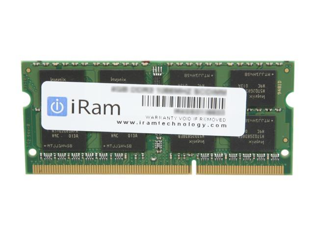 iRam 4GB 204-Pin DDR3 SO-DIMM DDR3 1066 (PC3 8500) Memory for Apple MacBook & iMac Model IR4GSO1066D3