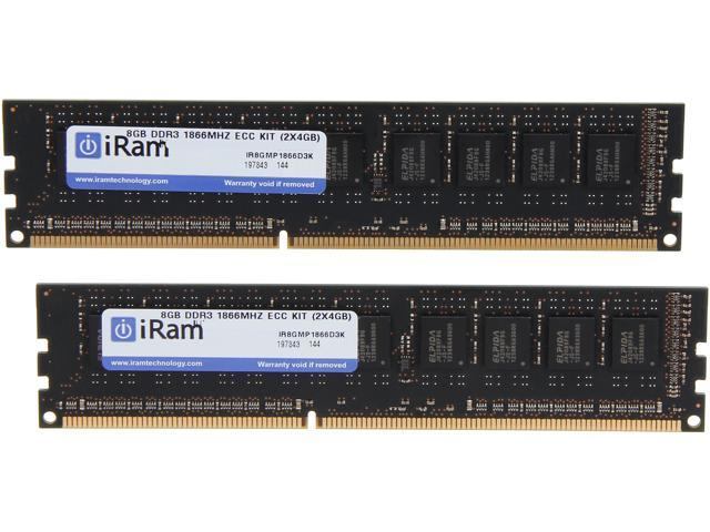 iRam 8GB (2 x 4GB) 240-Pin DDR3 SDRAM DDR3 1866 (PC3 14900) Memory for Apple Model IR8GMP1866D3K