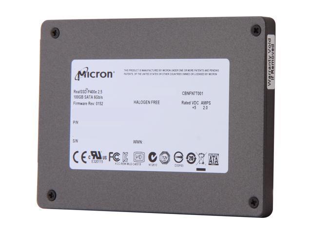 Micron RealSSD P400e MTFDDAK100MAR-1J1AA 2.5